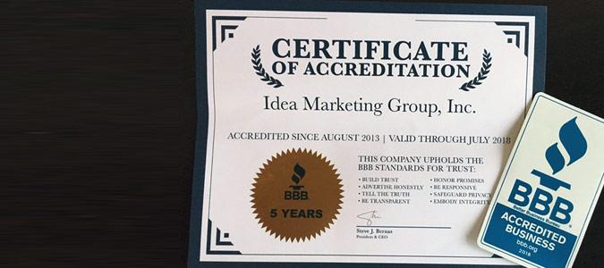 Idea Marketing Group BBB