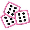 pink dice125
