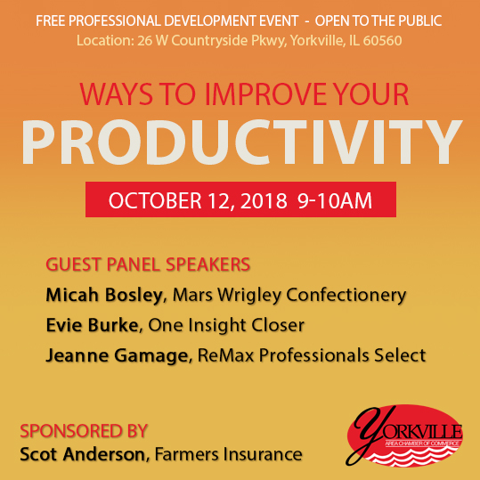 Free Professional Development Event on Productivity