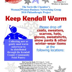 Keep Kendall Warm 2018 flyer